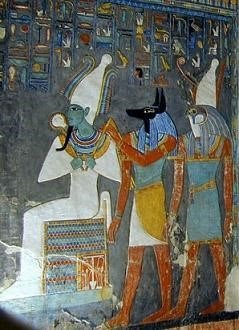 Ancient Egyptian Deities paintings
