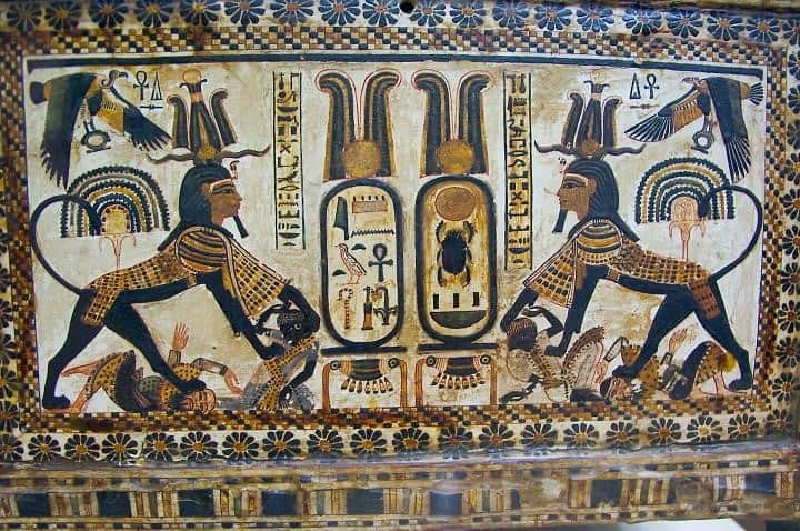 Cartouche of Tutankhamun