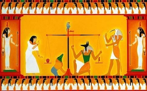 Egypt After LIfe Painting