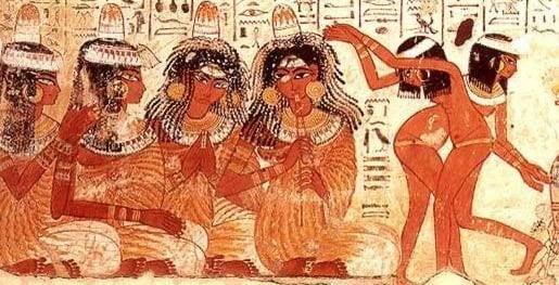 Egyptian dance paintings