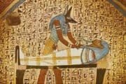 Mummification paintinngs ancient Egypt