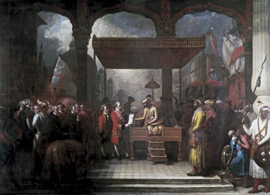 Robert Clive rule in india