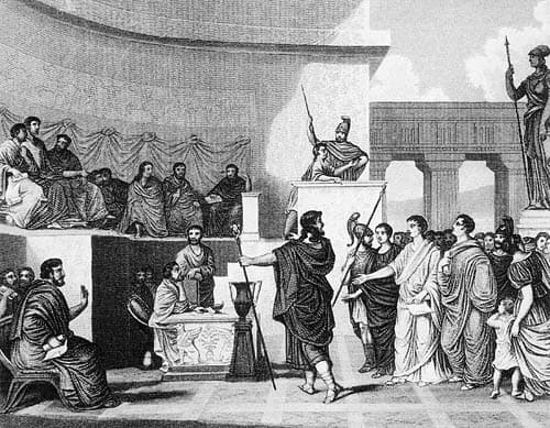 Roman became Republic