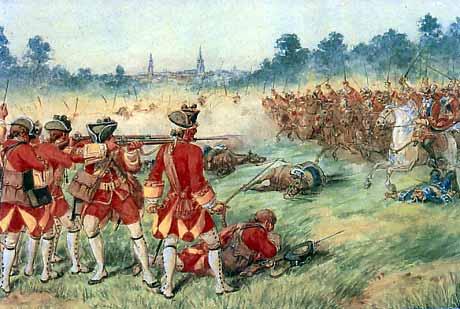 Seven Years War - battle of Minden