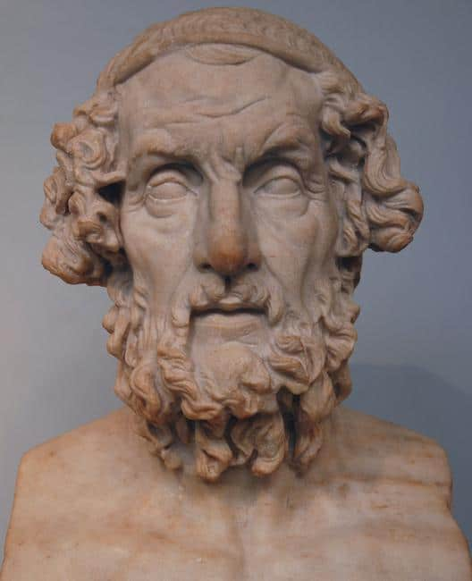 Homer, Greek poet