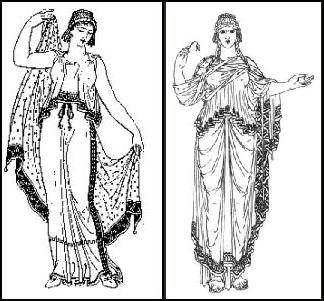 Peplos in ancient Greece
