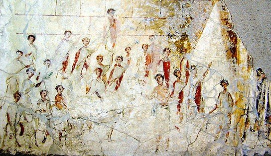 Religious festival in ancient rome