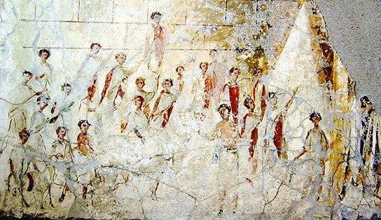 Religious festival in ancient rome