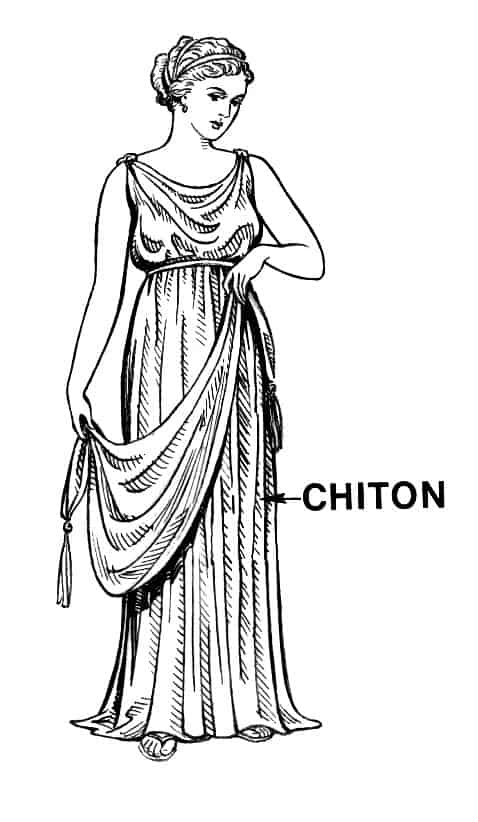 Chiton in ancient Greece