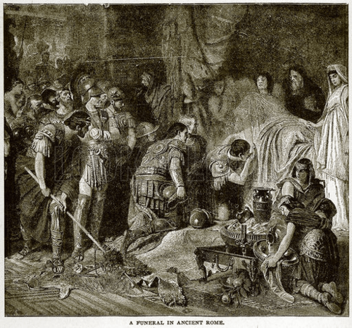 funeral in ancient rome