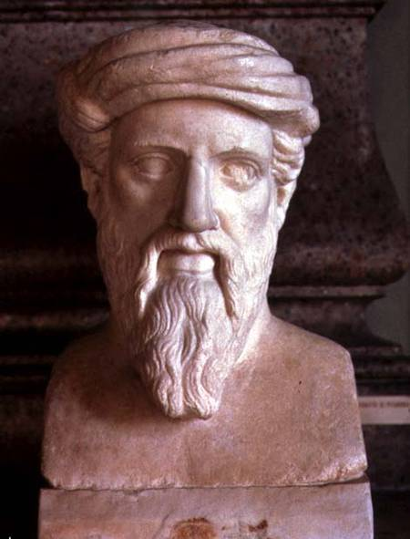 Pythagoras, Greek mathematician