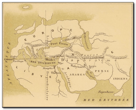 Cartography ancient greece