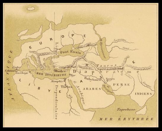 Cartography ancient greece