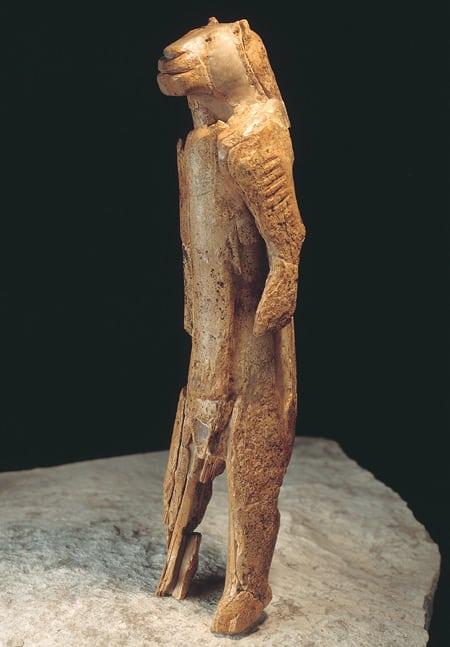 Lion Man of the Hohlenstein Stadel 38,000 history art