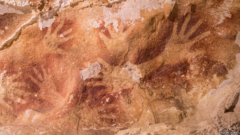 Sulawesi cave art (37,900 BC)