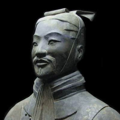 Ancient Chinese military warrior, Sun Tzu