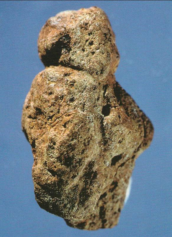 Venus of Berekhat Ram old pre history art