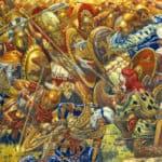 Battle of Platea (479 BC) between Greek and Persian