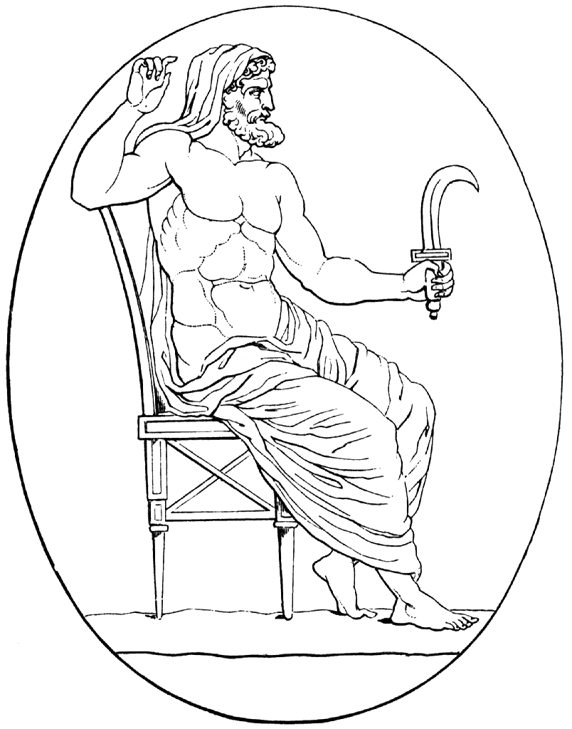 Ancient Greek god Cronos