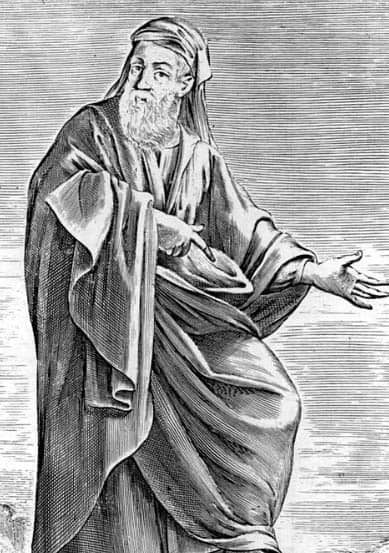 Greek Philosopher Empedocles in Thomas Stanley