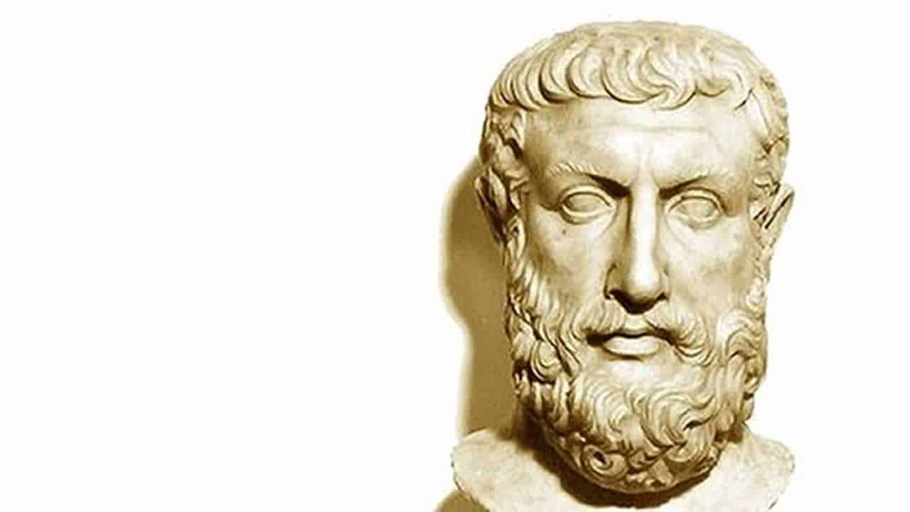 Greek Philosopher parmenides