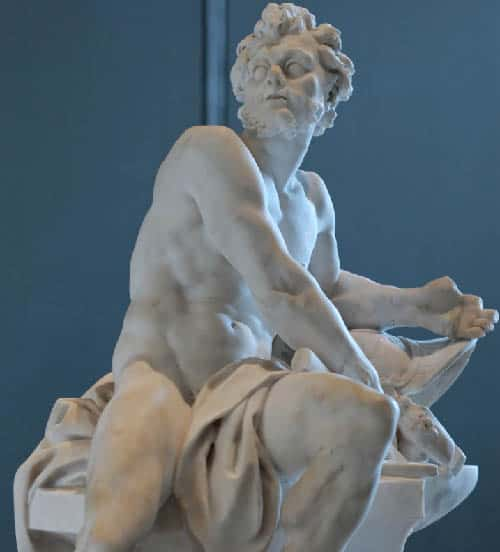 Ancient Greek god Hephaestus