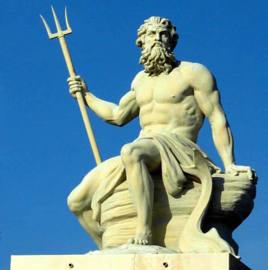 Ancient Greek god Poseidon