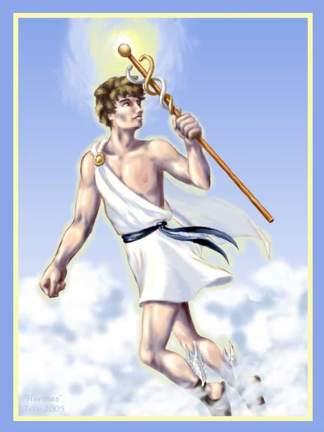 Ancient Greek god Hermes