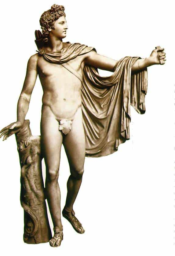 Ancient Greek god Apollo