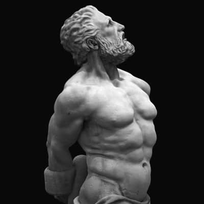 Ancient Greek god Prometheus