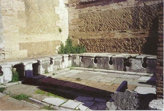Ancient Roman invention: sewers and sanitation