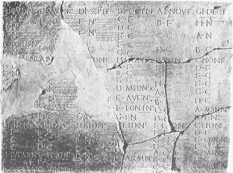 Julian calendar, ancient Rome