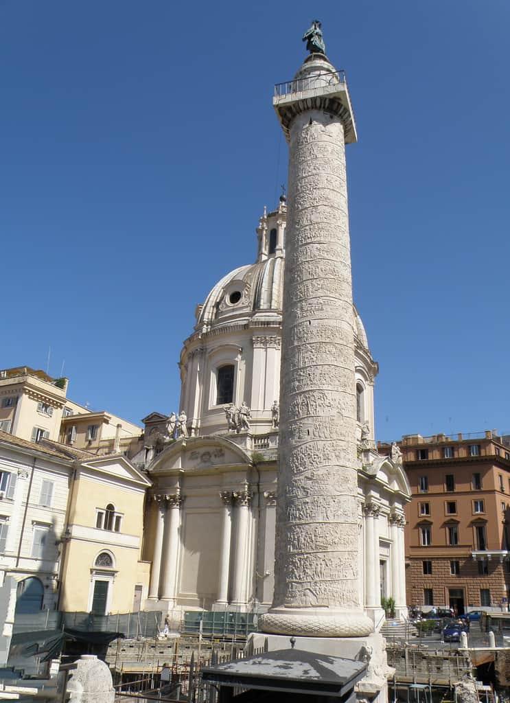 Column of Trajan in Ancient Rome