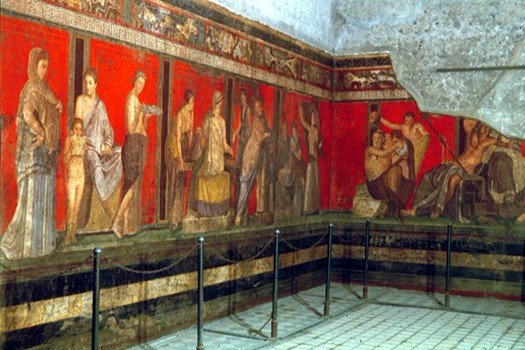 Dionysus frieze, Villa of Mysteries