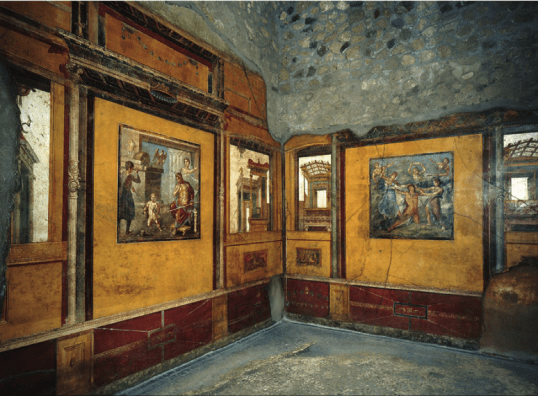 Ixion Room, House of the Vettii in Rome