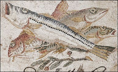 ancient roman foods fish