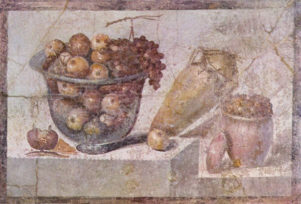 food ancient rome pompei