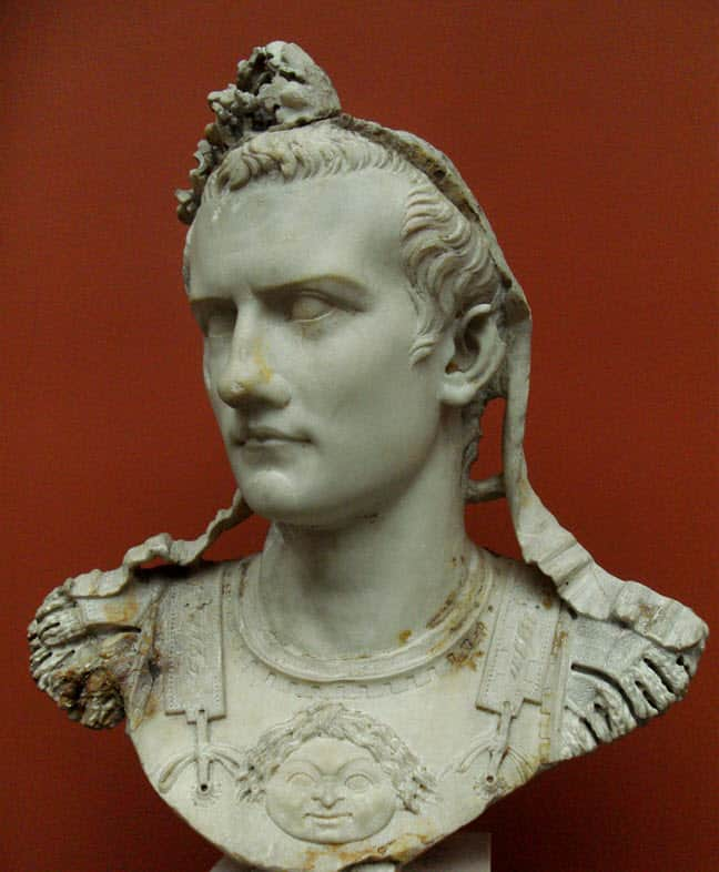 Caligula cross dressing Roman Emperor