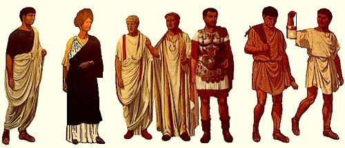 Ancient Rome clothing