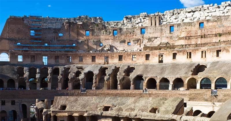 roman architecture colosium