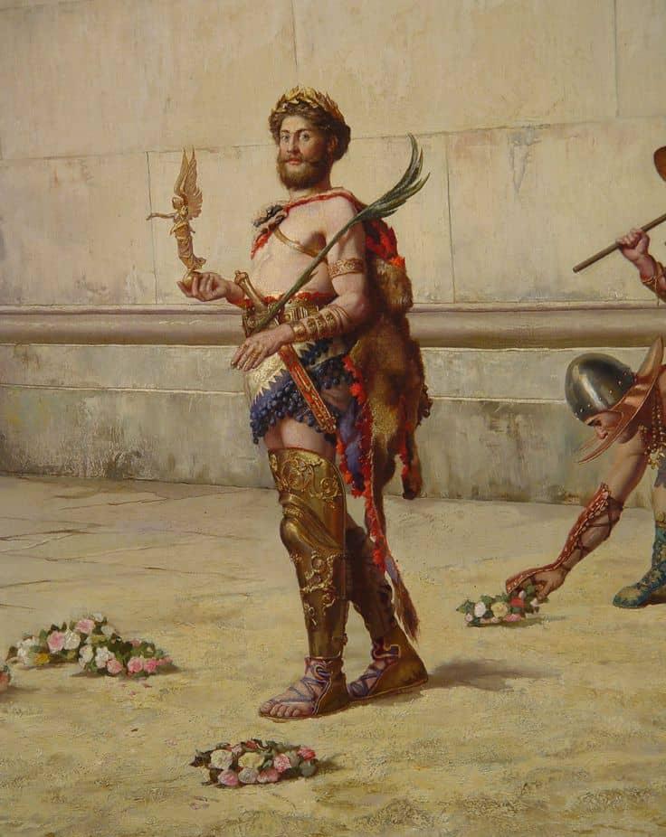 Commodus gladiator of rome