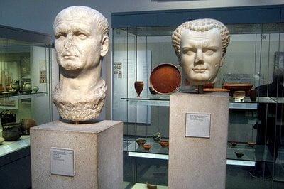 Priscus and Verus roman gladiator