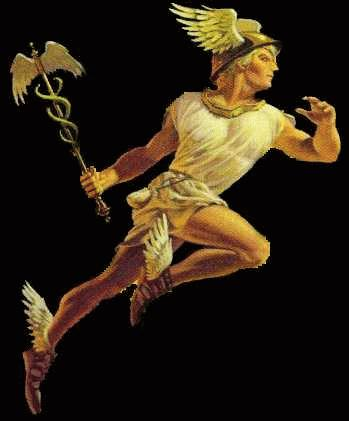 Roman gladiator hermes