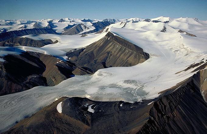 glacier ice age