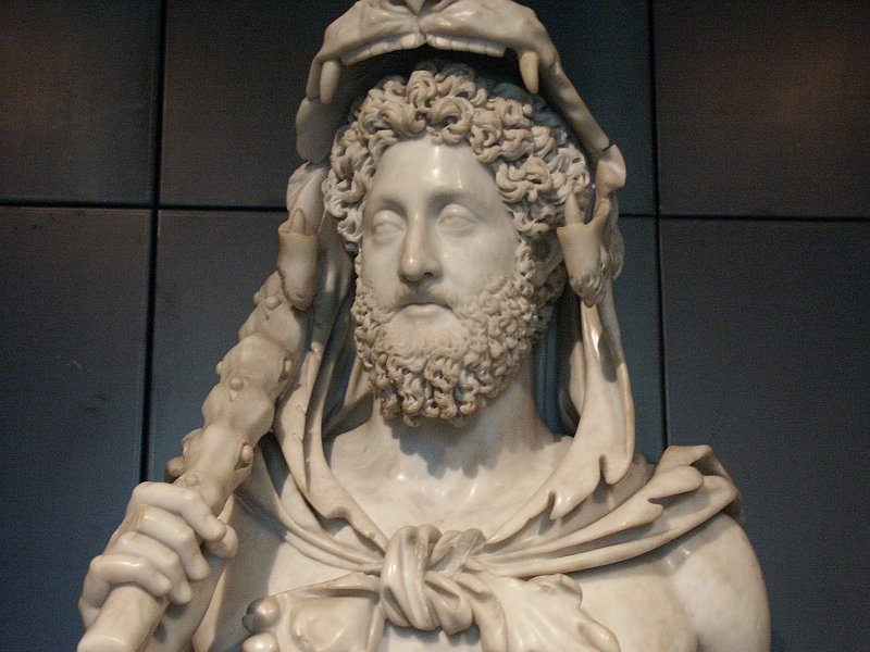 Commodus infamous Roman emperor
