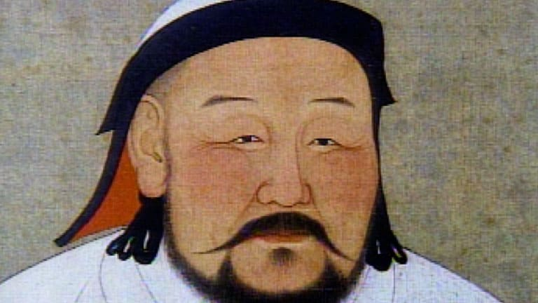 Genghis Khan- Mongolian origin