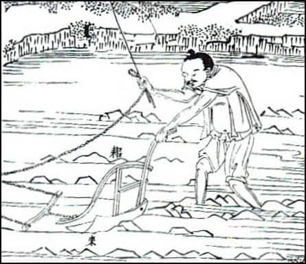 The seed drill: ancient Chinese invention