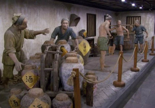 alcohol in ancient china