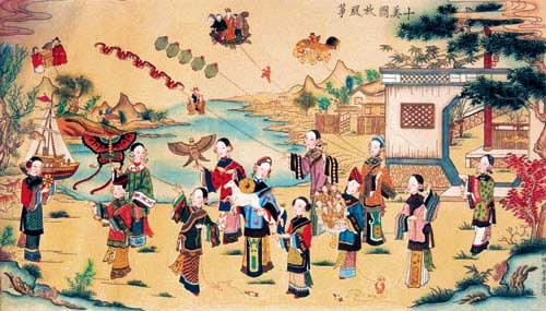 Kites: ancient Chinese invention
