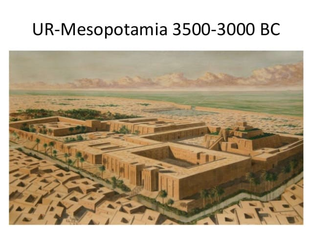 Mesopotamians started the concept of urbanization